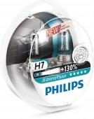 Philips X-TreamVision H7 12V 55W Автолампа галоген, 2шт