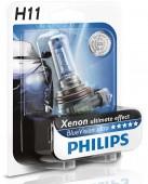 Philips BlueVision Ultra H11 12V 55W Автолампа галоген, 1шт