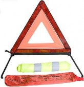 Vitol ЗА-617 Аварийный знак + жилет светоотражающий