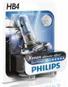 Philips BlueVision Ultra HB4 12V 55W Автолампа галоген, 1шт