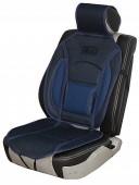 Vitol CN 12527 BK/BL Накидка на сиденье черно-синяя, 1шт