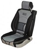 Vitol CN 12527 BK/GY Накидка на сиденье черно-серая, 1шт