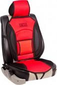 Vitol CN 12527 BK/RD Накидка на сиденье черно-красная, 1шт