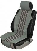 Vitol CU 1202 Накидка на сиденье текстиль серая, 2шт