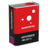 Nanoprotec G11 -80C Антифриз концентрат cиний