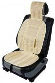 Vitol SC9019 Накидка на сиденье бамбуковая бежевая, 2шт
