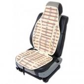 Vitol SC9053 Накидка на сиденье бамбуковая бежевая, 2шт