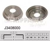 Nipparts J3408000 Тормозный барабан