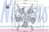 Nissens 85048 Вентилятор