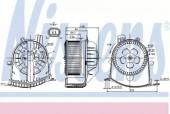 Nissens 87038 вентилятор