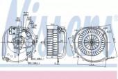 Nissens 87100 вентилятор