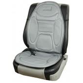 Vitol H96035DGY Накидка на сиденье с подогревом высокая, серая 1шт