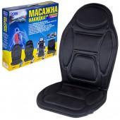 Vitol M 96029 BK Накидка на сиденье с подогревом, массажером, пульт, черная 1шт