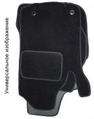 EMC Elegant Коврики в салон для Mitsubishi Lancer X Sportback с 2007 Sedan текстильные черные 5шт