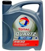 Total Quartz Ineo ECS 5W-30 Синтетическое моторное масло