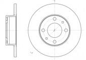 Remsa 6030.00 Тормозной диск