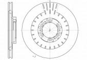 REMSA 6953.10 Тормозной диск