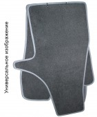 EMC Elegant Коврики в салон для Fiat Doblo ( 7 мест ) c 2009 текстильные серые 5шт