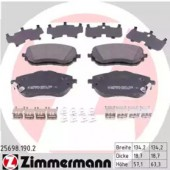 Zimmermann 25698.190.2 Комплект тормозных колодок