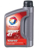 Total Sport 4T 10W-40 Синтетическое масло 4Т двигателей для мототехники