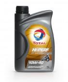 Total Hi-Perf 4T Sport 10W-40 Синтетическое масло 4Т двигателей для мототехники