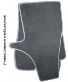 EMC Elegant Коврики в салон для Mitsubishi Lancer X Sportback с 2007 Sedan текстильные серые 5шт