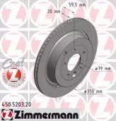 Zimmermann 450.5203.20 Тормозной диск