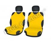 Koszulki Майки автомобильные универсальные передние желтые, 2шт