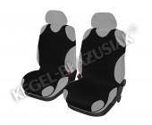 Koszulki Майки автомобильные универсальные передние черные, 2шт