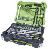 """Alloid НГ-4115П Универсальный набор инструментов, 115 предметов, 1/4"""", 1/2"""""""