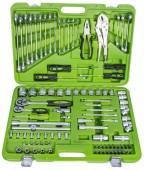 """Alloid НГ-4101П Универсальный набор инструментов, 101 предмет, 1/4"""", 1/2"""""""