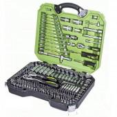 """Alloid НГ-4218П Универсальный набор инструментов, 218 предметов, 1/4"""" и 3/8"""" и 1/2"""""""