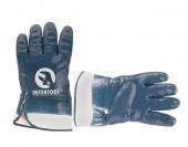 InterTool Перчатки маслобензостойкие синие
