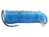 InterTool Шланг спиральный полиуретановый 15м