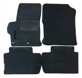 Carrera Стандарт коврики в салон для Citroen C-elysee 2012- текстильные, черные 4шт