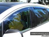 Heko Дефлекторы окон  AUDI A4 (B5) 1995-2000 Седан, вставные чёрные 2шт