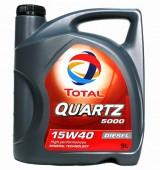 Total TOTAL Quartz Diesel 5000 15W-40 Моторное масло