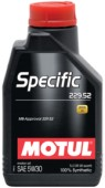 Motul SPECIFIC MB 229.52 моторное масло