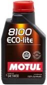 Motul 8100 Eco-lite синтетическое моторное масло 5W-30