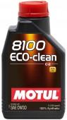 Motul 8100 ECO-CLEAN SAE 0W-30 Синтетическое масло