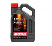Motul 8100 X-clean FE синтетическое моторное масло 5W-30