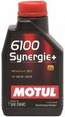 Motul 6100 Synergie+ 5W-40 Cинтетическое моторное масло