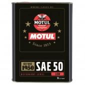 Motul Classic Oil моторное масло SAE 50