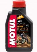 Motul ATV Power 4T Синтетическое масло для 4Т двигателей
