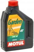 Motul Garden 30W 4T Минеральное масло для 4Т двигателей сельскохозяйственной техники