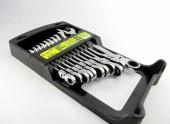 Alloid Набор ключей с трещеткой и карданом 11шт, 8-19мм