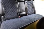 Аvторитет Накидка на заднее сиденье, черная, 2шт