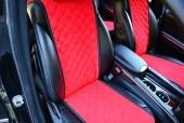 Аvторитет Накидка на переднее сиденье, красная, 2шт