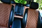Аvторитет Накидки на передние и задние сиденья, коричневые