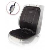 Vitol H 23014 BK Накидка на сиденье низкая с подогревом, пульт, низкая черная 1шт
